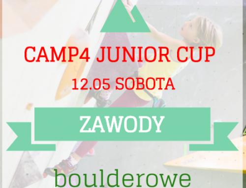 Zawody wspinaczkowe w Warszawie – Camp4 Junior Cup – 3 edycja