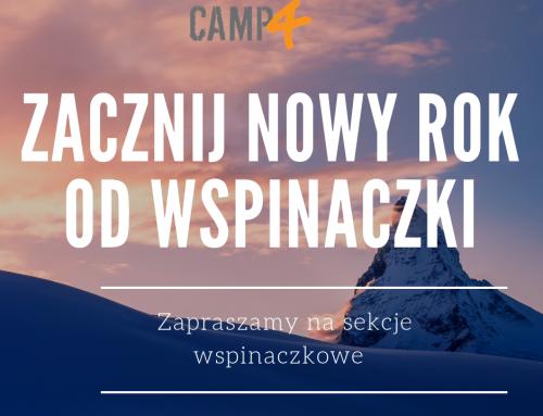 Wolne miejsca na sekcje wspinaczkowe w Warszawie