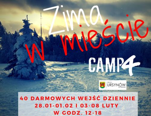 Zima w Mieście w Warszawie – ferie 2019