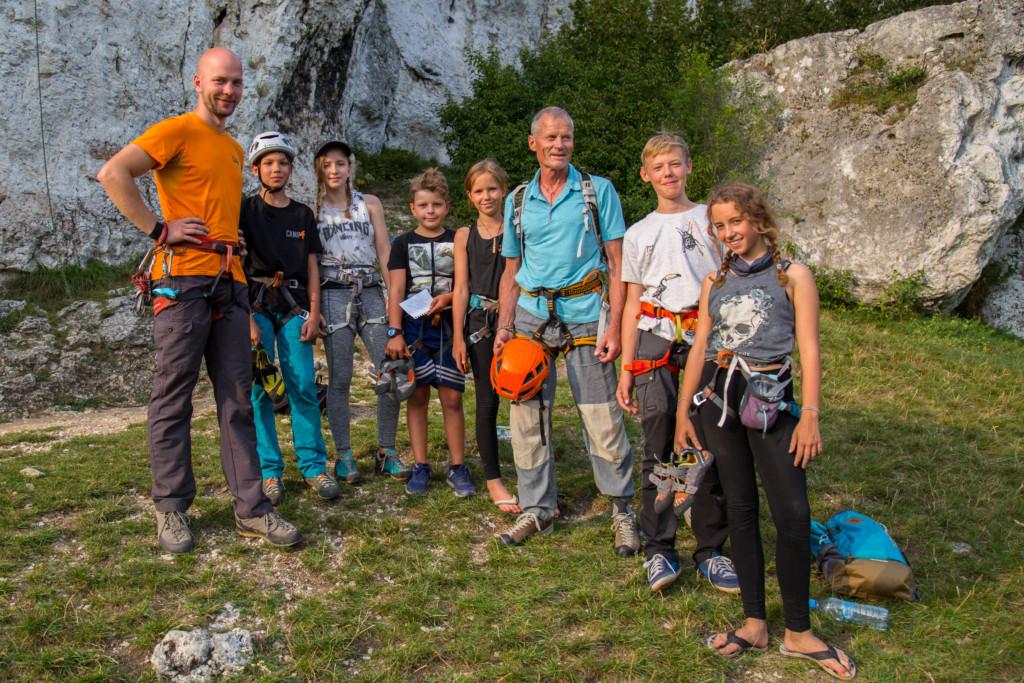 Obóz wspinaczkowy w Jurze – wakacje 2021