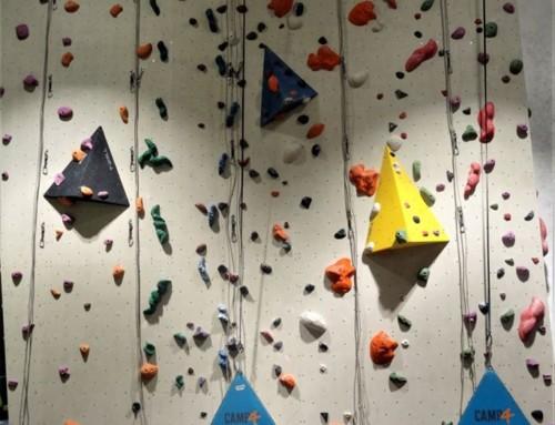 Nowe drogi na ścianie z liną na pionie