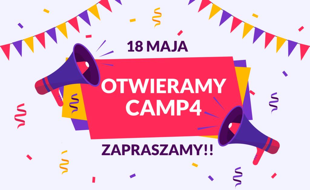 Otwieramy Obiekt Sportowy Camp4